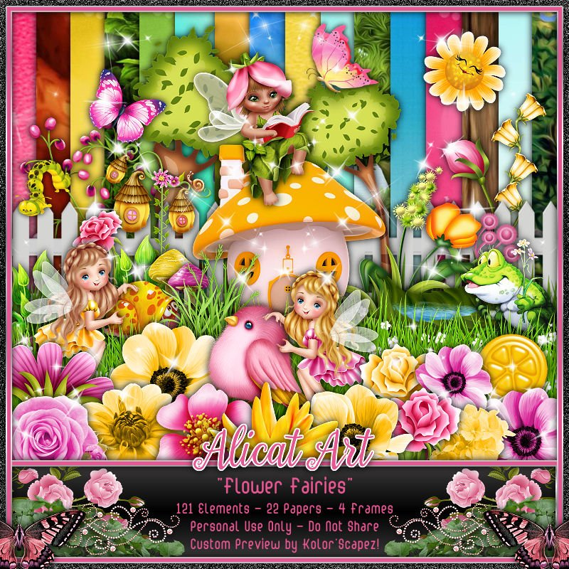 AL2 Flower Fairies