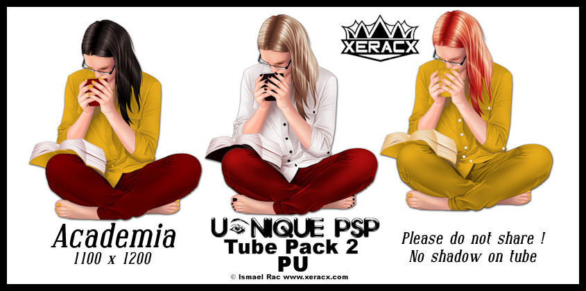 UP Academia Tube Pack 2