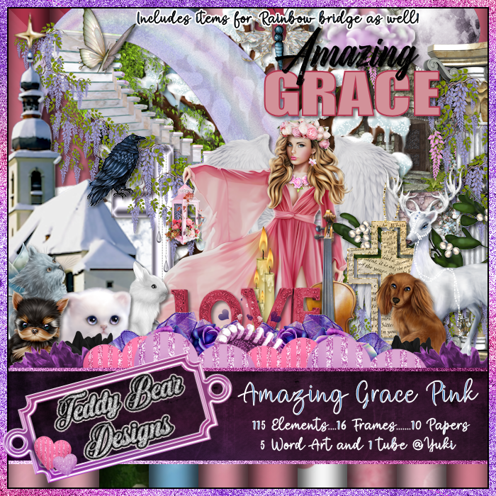 TBD Amazing Grace Pink