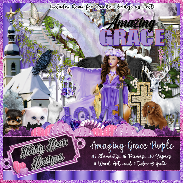 TBD Amazing Grace Purple