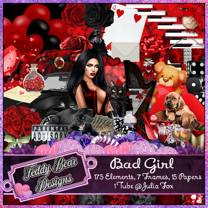 TBD Bad Girl Scrapkit