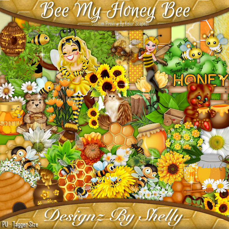 Bee My Honey Bee