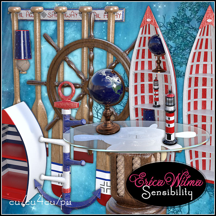 EW Nautical Set