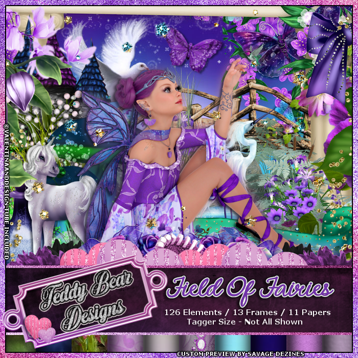 TBD Fields of Fairies Scrapkit