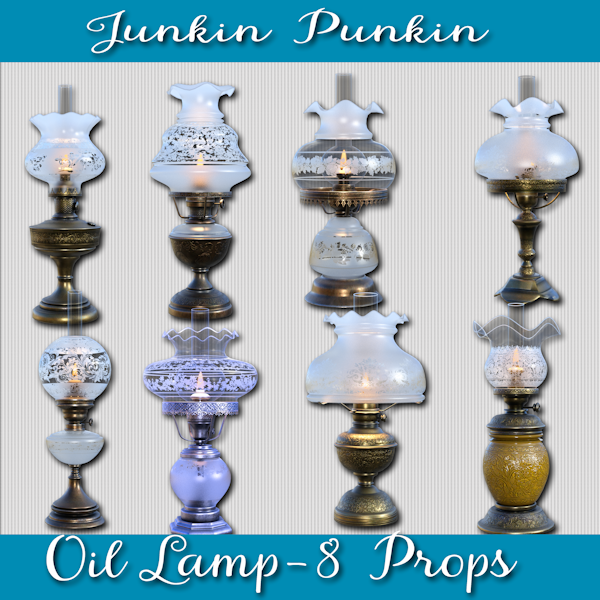 JP CU Oil Lamps - Click Image to Close