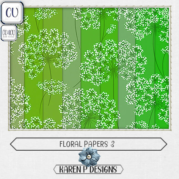 Floral Papers 3