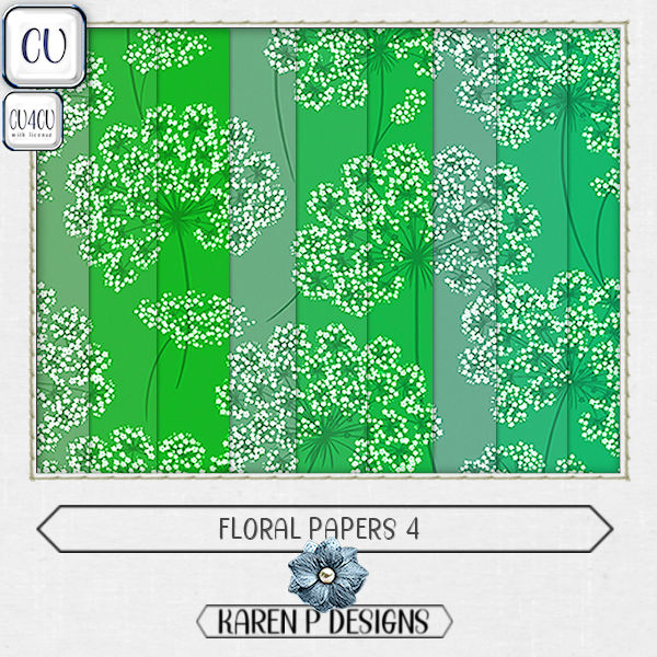 Floral Papers 4 - Click Image to Close