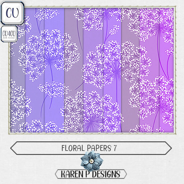 Floral Papers 7 - Click Image to Close