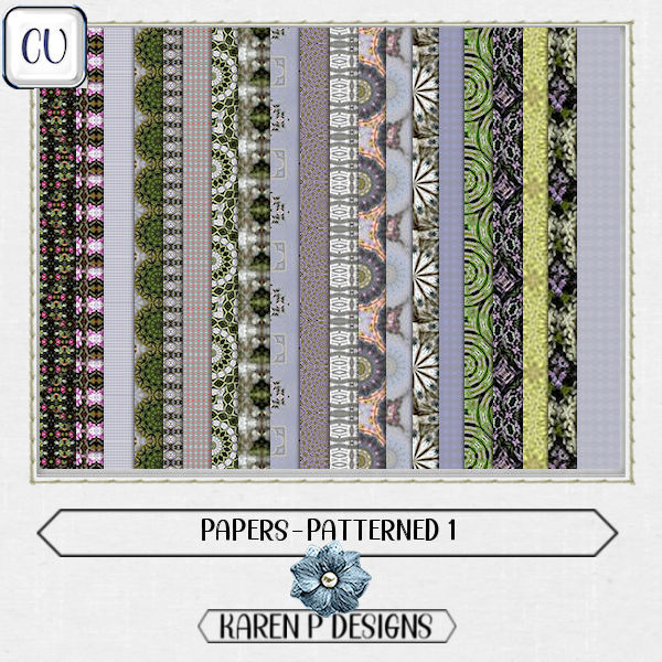 Papers-Patterned 1