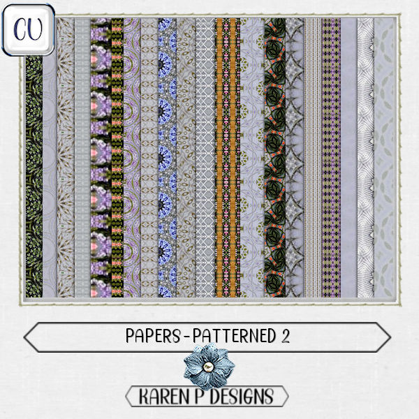 Papers-Patterned 2