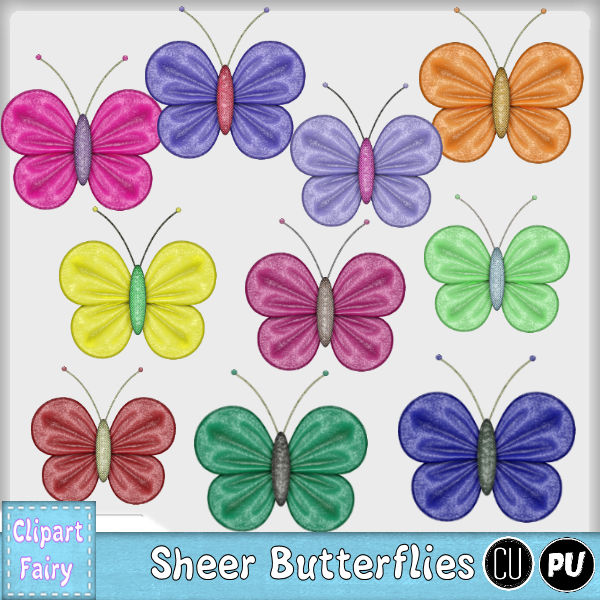 Sheer Butterflies