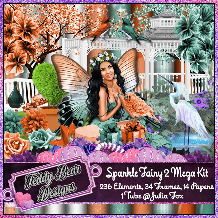 TBD Sparkle Fairy 2 Mega Kit