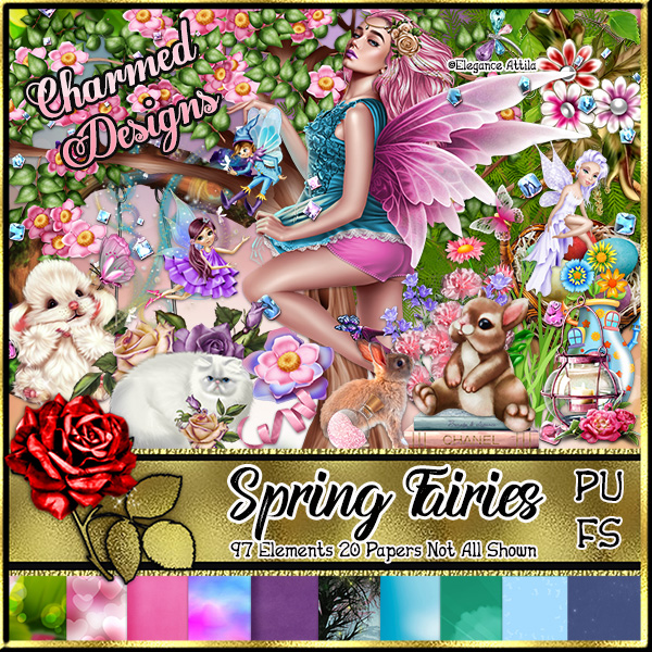 Spring Fairies - Click Image to Close