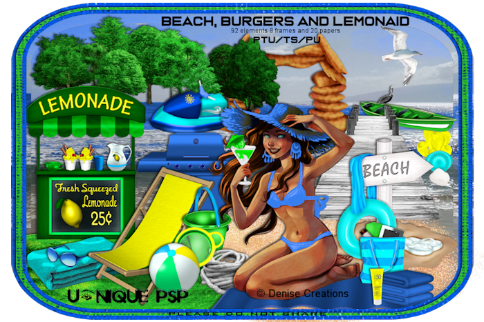 UP Beach, Burgers and Lemonaid