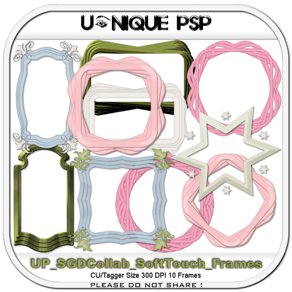 UP Soft Touch Frames