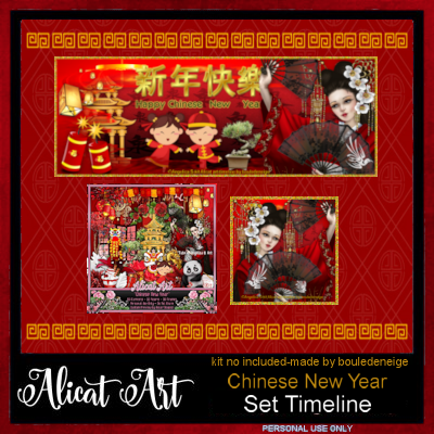 Chinese New Year Timeline Pack