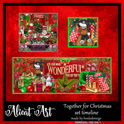 Together for Christmas Timelines Pack