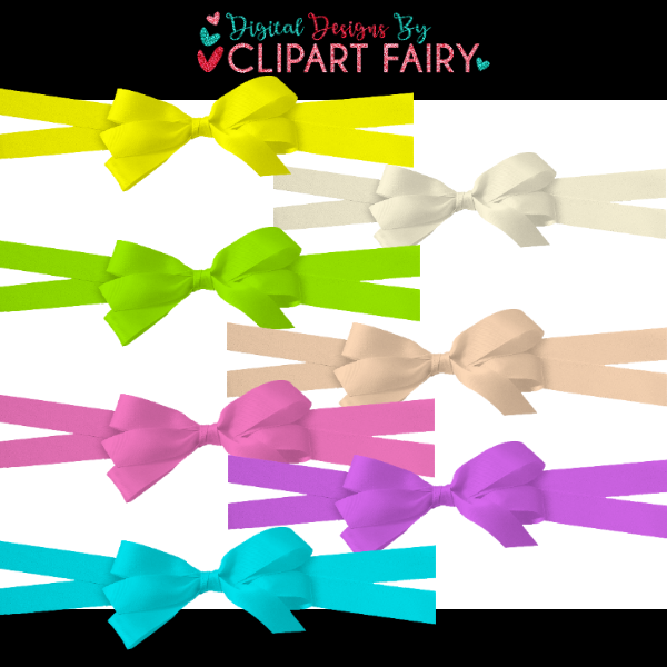 CAK-Double Ribbon with bow