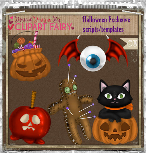 Halloween Exclusive Pack Scripts/templates