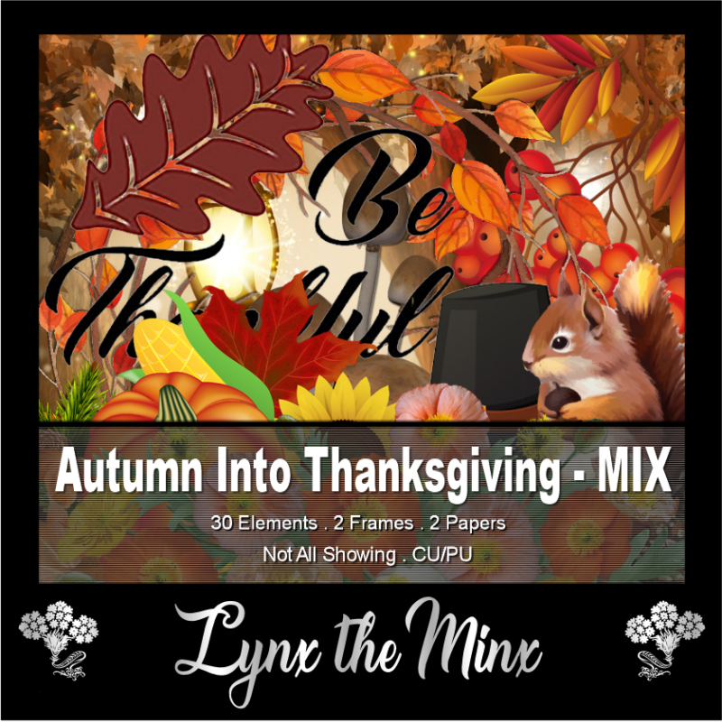 Autumn Into Thanksgiving - Mix