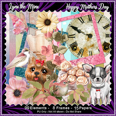 Happy Mother's Day - Tagger Size Kit