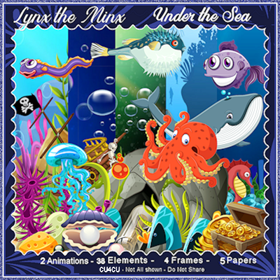 Under the Sea - Mix for CU4CU