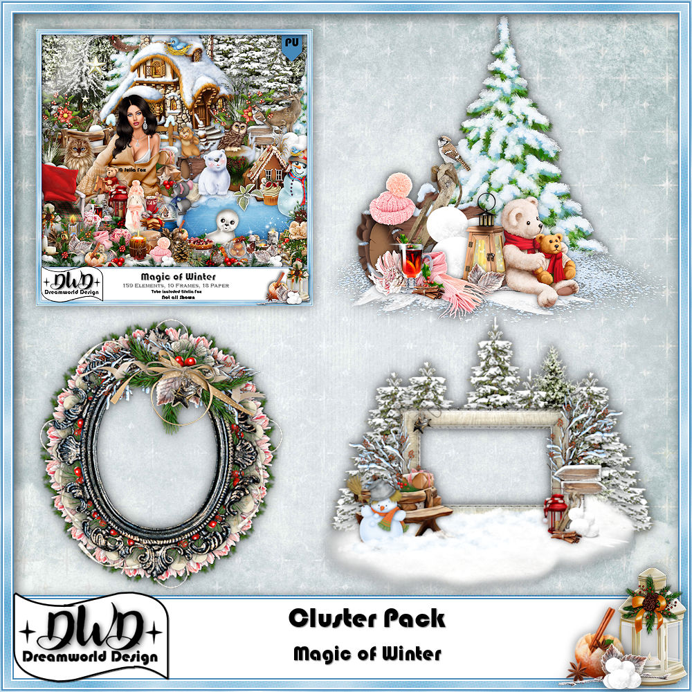 Cluster Frames *Magic of Winter*