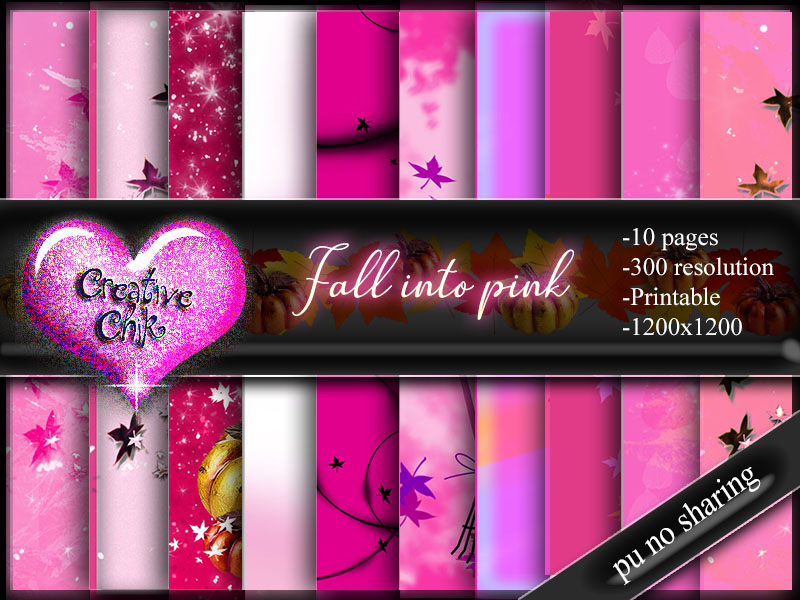 CCD-Fall into Pink-Paperpack