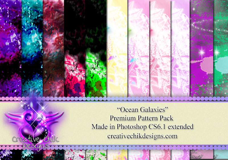 CCD-Ocean Galaxies-PS Pattern Pack