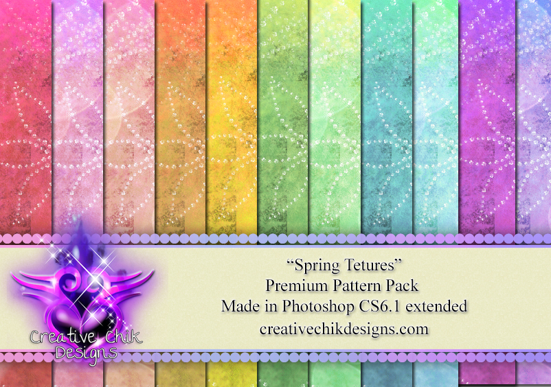CCD-Spring Textures-PS Pattern Pack