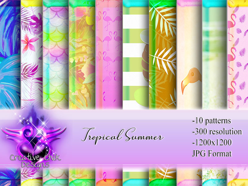 CCD-Tropical Summer Paper Pack