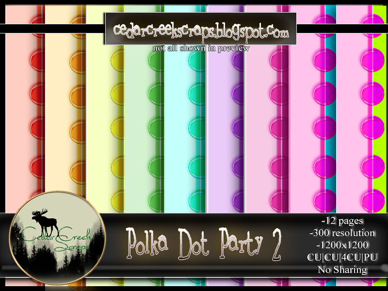 CCD-Polka Party 2 Paper Pack