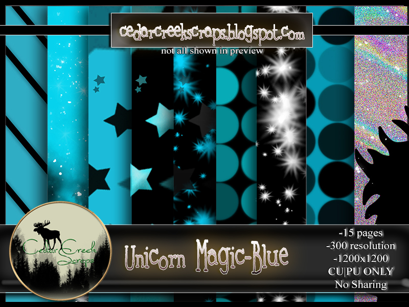 CCS-Unicorn Magic-Blue