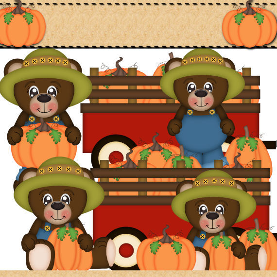 Autumn Bears 2