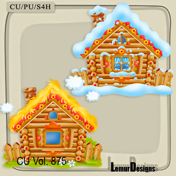 CU Vol. 875 Houses by Lemur Designs