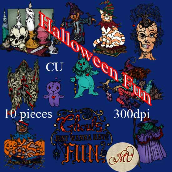 Halloween Fun elements