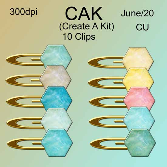 CAK June 2020 element pack 1