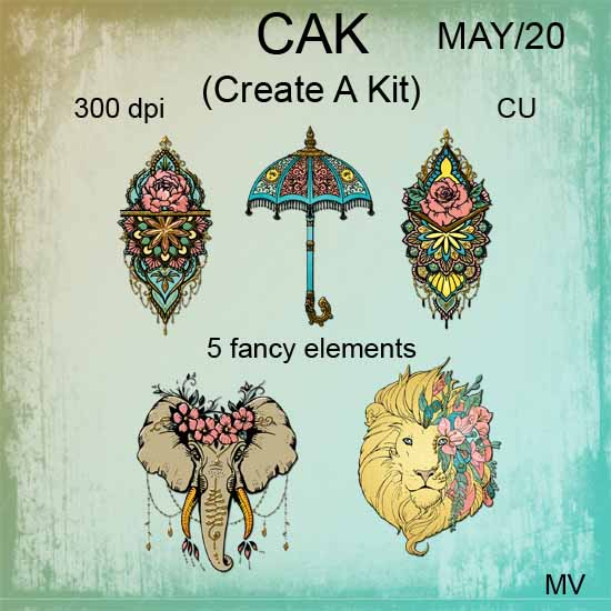 CAK May 2020 element pack 1